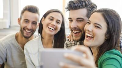 Group of friends taking a selfie | Dentist in Clinton Township