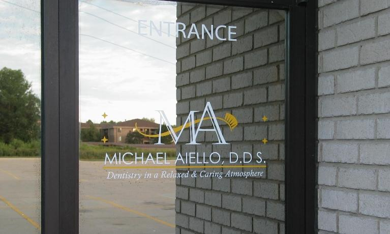 Door at Michael Aiello, DDS