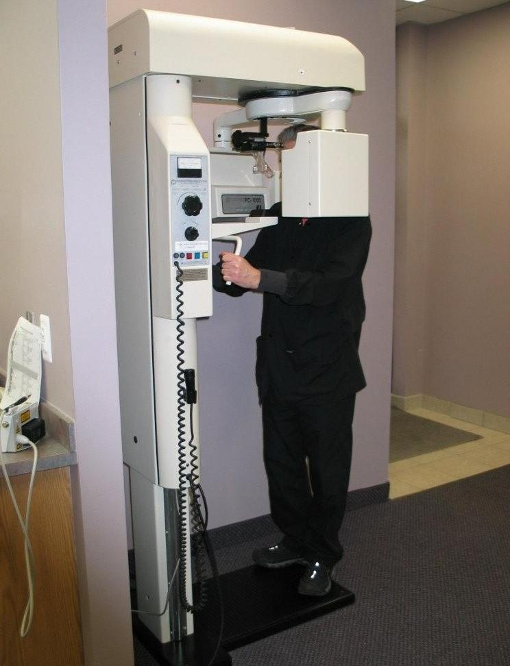 panoramic x-ray machine | Clinton Township Dentist